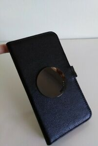 info for 770e6 a41fd Details about Mimco Black Gunmental WAVER FLIP CASE FOR SAMSUNG GALAXY S9 +