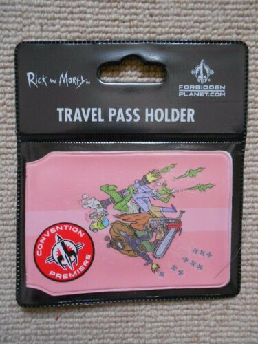 ID CARD HOLDER TRAVEL TRAIN OYSTER CARD HOLDER RICK AND MORTY BALL FONDLERS