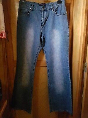 Laborioso Hamnett Donna Jeans Taglia 14 - 32 Pollici Interno Gamba-mostra Il Titolo Originale