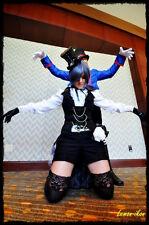 Black Butler Ciel Phantomhive Kuroshitsuji Cosplay Costume