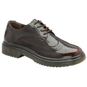Oxford Scarpe 5 Ingrid Dolcis Ladies College College Bordeaux Gibson Scarpe Uk IgPfwq