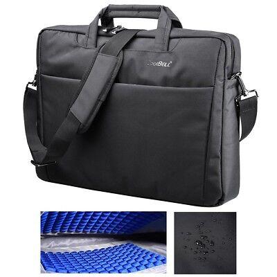 "CoolBELL® 17.3"" Laptop Notebook Handbag Sleeve Case Bag Briefcase Bubble Pad"