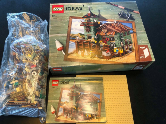 Lego Ideas, KOMPLET, Old Fishing Store 21310, Hejsa! Jeg…