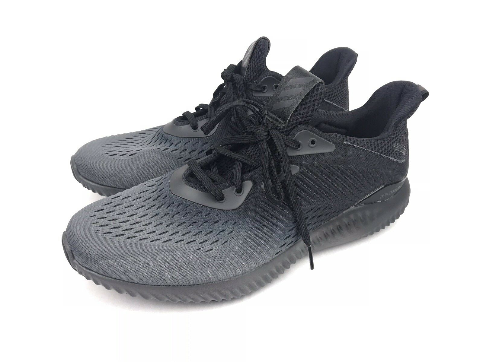 0e660e23c Adidas Men s Alphabounce EM M Training Running Black Black Black Grey Mesh  Size 11 (BY4263