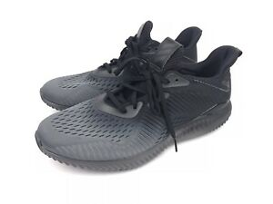 98a448b7b Adidas Men s Alphabounce EM M Training Running Black Grey Mesh Size ...
