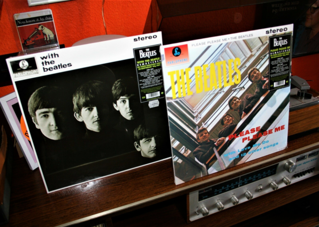 LP, The BEATLES, NYE Please, please me+With The Beatles,…