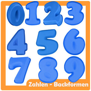 Backform Zahlen 1 9 Geburtstag Silikon Jubilaum Party Nummer