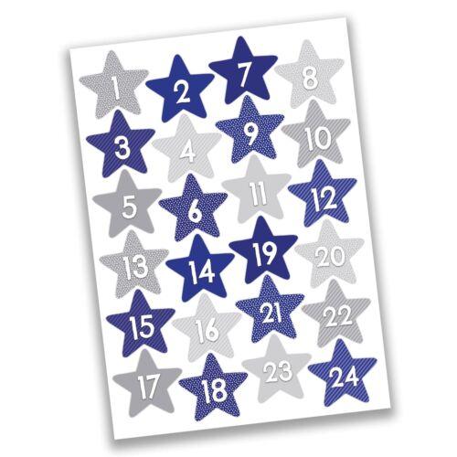 Dragones de papel 24 calendario de Adviento cifras pegatinas-Design nr 12