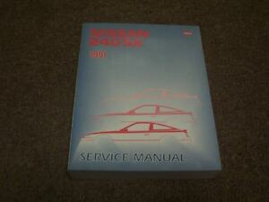 1991 nissan 240sx factory shop service repair manual se le coupe rh ebay com nissan 240sx s14 service manual nissan 240sx s14 service manual