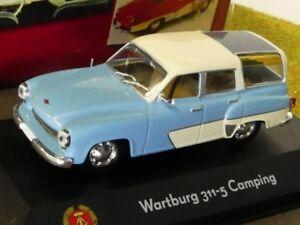 1//43 Atlas DDR Auto Kollektion Wartburg 353 Trans hellgrün 7230 020