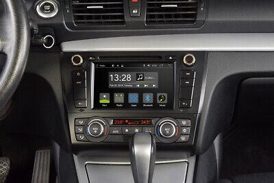 """FleißIg Für Bmw 1er E87 E88 7 """" Android Auto Radio Auto Navigation App Wifi Usb Bt Dab +"""
