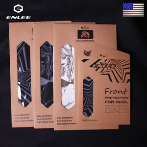 MTB//Road Bike Stickers Guard 3D Protactive Film Frame//Fork Reflective Stickers
