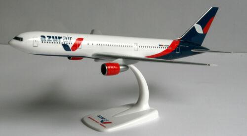 Azur air boeing 767-300er 1:200 Herpa SNAP-fit 611749 b767 azurair avión