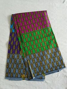 New-African-Cotton-Print-Cloth-Ankara-For-Dresses-Craft-Making-Per-Yard