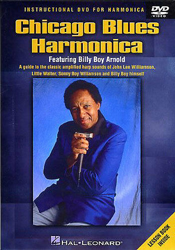 Billy Boy Arnold Chicago Blues Harmonica Learn to Play Mouth Organ Music DVD