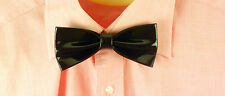 Purple Patent Real Leather Bow Tie. Rare, Unique and Super item. All Handmade