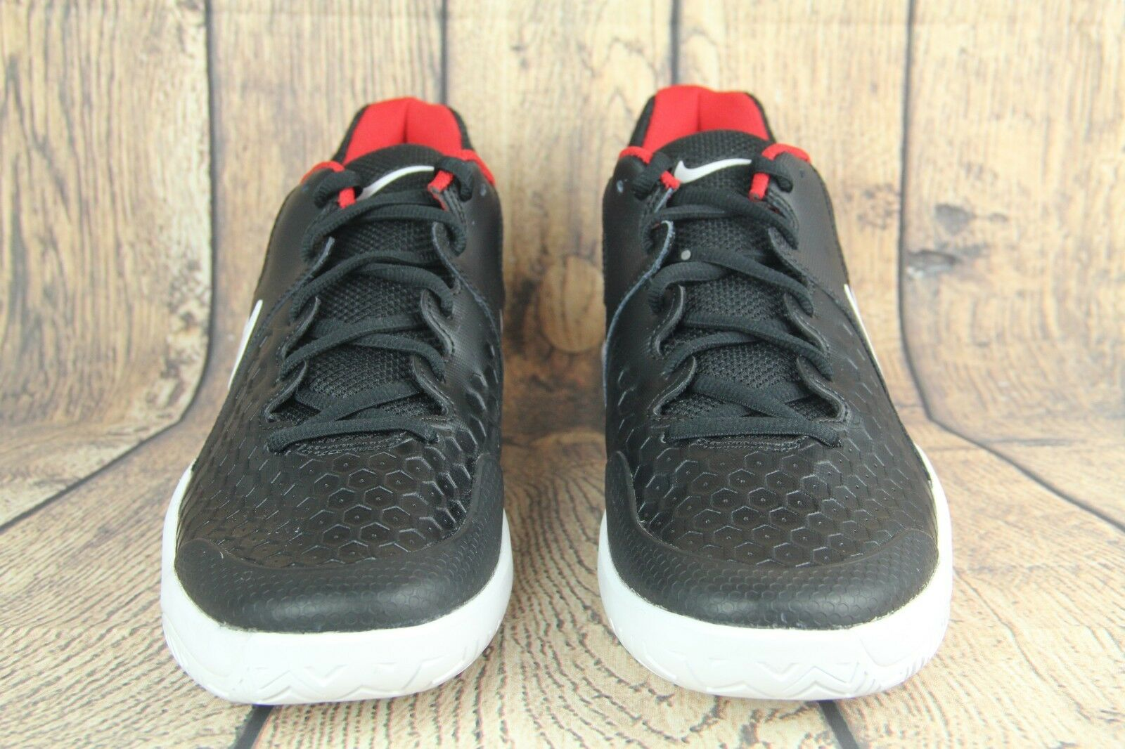 New Nike Mens Air Zoom Resistance Tennis Shoes Black 918194-001 Size 11.5