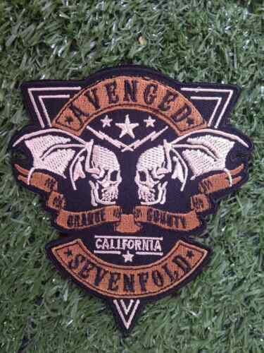 Music AVENGED SEVENFOLD Embroidered Craft Patch Iron on Sew