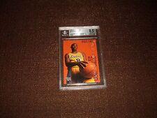 Kobe Bryant 96/97 UD Rookie Exclusive BGS 8.5