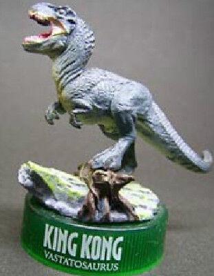 Kaiyodo Japan King Kong Movie T-rex V-rex Dinosaur mini pvc figurine figure