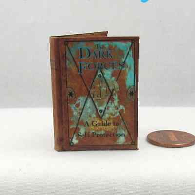 THE DARK FORCES A SELF PROTECTION GUIDE 1:6 Scale Readable Book Potter Magic