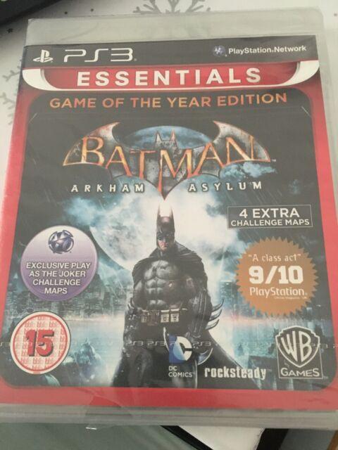 Batman: Arkham Asylum-Spiel des Jahres Essentials Edition (Playstation 3)