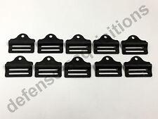 "Set of 10 Military 1"" Tension Lock Adjuster Buckle Ladderlock Sling Attachment"