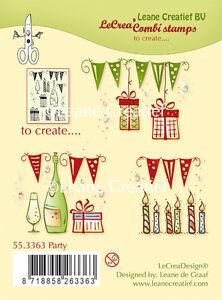 Leane-Creatief-FESTA-Combi-Trasparente-Cling-Stampo-In-Gomma-55-3363