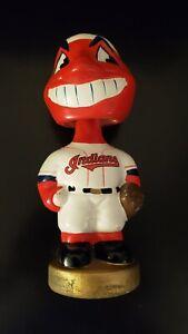 2001-Cleveland-Indians-Wahoo-Mascot-Bobblehead-Bobble-TEI-Twins-Enterprise-MLB