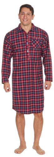 Mens NightshirtsTraditional Striped//Checked Night ShirtMens Nightwear UK