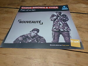 Chris-Brown-amp-Tyga-Ventilador-French-Display-Plv-30-X-30CM