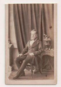 Vintage-CDV-Henry-Pelham-Clinton-5th-Duke-of-Newcastle-British-politician
