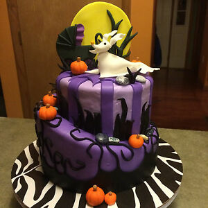 image is loading custom edible 3d cake toppers for nightmare before