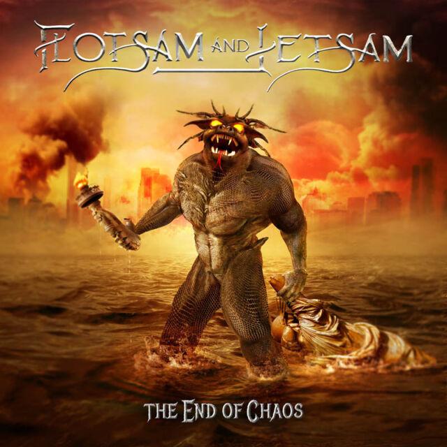 FLOTSAM AND JETSAM - The End Of Chaos - Black-Vinyl-LP - 884860239516