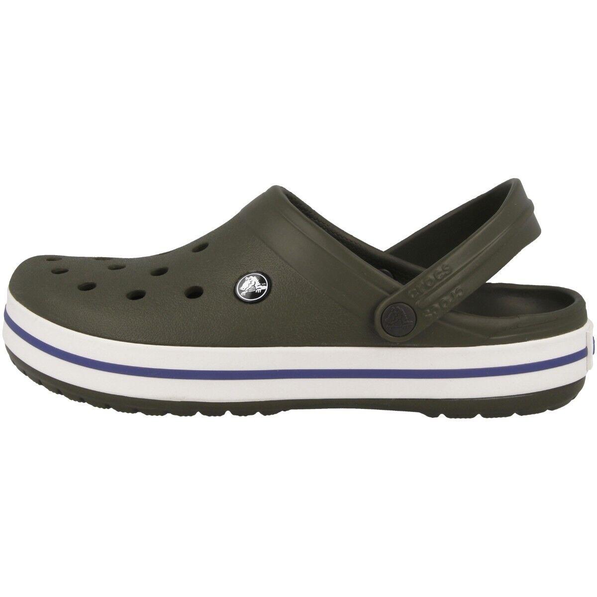 Crocs Crocband obstruir baño Sandalias Zuecos Zapatos de baño obstruir Oscuro Verde Camuflaje 81b81a