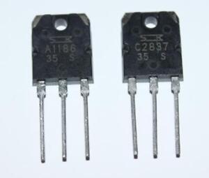 2SA1186-2SC2837-TRANSISTOR-PCE