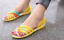 Women-039-s-Summer-Open-Toe-Jelly-Flat-Sandals-Beach-Rainbow-Color-2018-Shoes-Sandal thumbnail 5