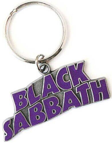 Rz Black Sabbath Ondulato Logo Metallo//Smalto Portachiavi