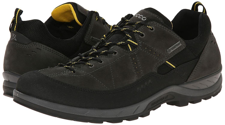 Ecco Men's YURA Thrill GTX, 840604-56340 Low Cut Lace Hiker (Waterproof, EU46)
