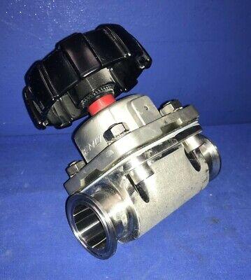 "Gemu PN16 316L Stainless Steel 1//2/"" Diaphragm Valve"