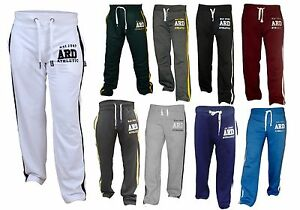 644cb37b78a0 Men s Joggers Cotton Fleece Jogging Trousers Pants Track Suit Bottom ...