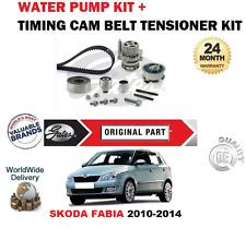 FOR SKODA FABIA 1.2 TDi 12V 1.6 TDi 16V 2010-2014 TIMING BELT KIT + WATER PUMP