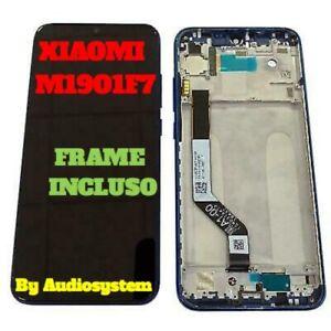 DISPLAY-LCD-TOUCH-SCREEN-FRAME-TELAIO-XIAOMI-per-REDMI-M1901F7-VETRO-NERO-NOT7