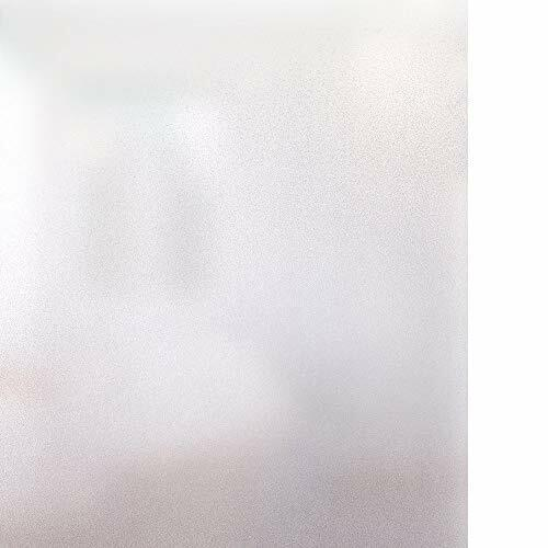 Rabbitgoo Window Film Self-Opaque Milk Glass Film Privacy Protection Film