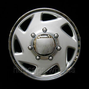 Ford Van 1998-2016 Hubcap - Premium Replacement 16-inch Wheel Cover - Silver