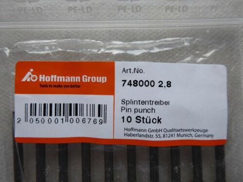 Splintentreiber 2,8 mm Durchschläger Splint Treiber mit Führungshülse Nr 748000