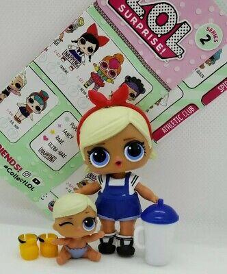 LOL Surprise Doll LIL KICKS Series 2 Little Sis Sister Authentic Dolls