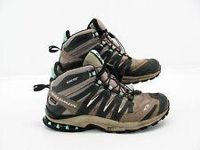 SALOMON GORE TEX XA ED ULTRA 2 Women Hiking Sneaker Boot Shoe 8.5M Pre Owned #M7