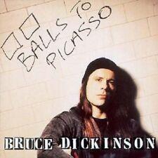 """BRUCE DICKINSON """"BALLS TO PICASSO (REISSUE)"""" 2 CD NEU"""