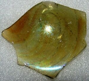 ancient roman glass fragment .very nice.....,big..,.